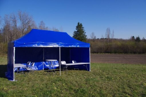 Telgi rent POP UP 3 x 6 telk Easy up 3x6 telk telkide rent peotelgi rent 18m2 peotelk peotelkide rent Tallinnas Аренда палаток tents rental Easy-up telgid Pop-up telgid 3x6 m