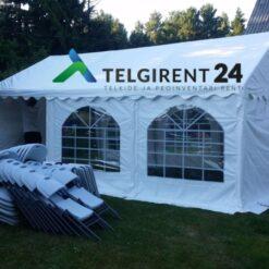 Peotelk 4x6 m peotelkide rent telkide rent valged peotelgid peotelkide rent 4x6Tallinnas Telgi rent Tallinnas