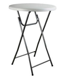 Pukklaud püstiseisulaud 80x110 pukklaua rent mööbli rent inventari rent Tallinnas inventari müük peomööbli müük plastikmööbli müük mööbli möök