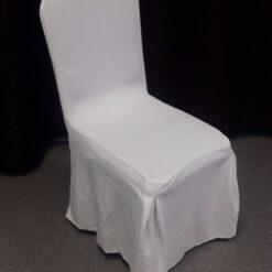 Toolikate valge banketitooli kate peoinventari rent toolikatete rent valge strech toolikatted