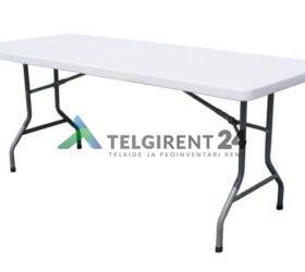 Kokkupandav laud laadalaud klapplaud plastik kokkuklapitav laud