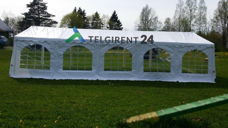 telgi rent Peotelk 5x10 50m2 peotelgi rent peotelkide rent valge peotelk valge pulmatelk PVC telkide rent