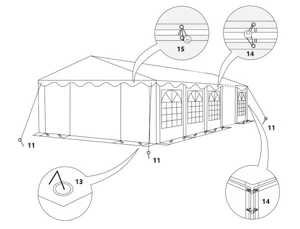 Peotelgi paigaldusjuhend peotelkide paigaldus telgi paigaldus ja rent