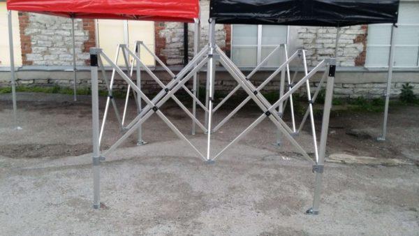 3x3 telgi rent easy up telgid 3x3 pop-up 3x3 PVC kattega peotelgid 50mm raam