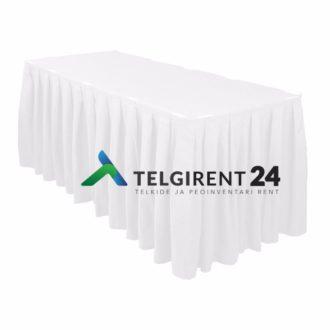 Lauaseelik valge 5m lauaseelikute rent peoinventari rent lauaseelikud laudlinad 5m lauaseeliku rent