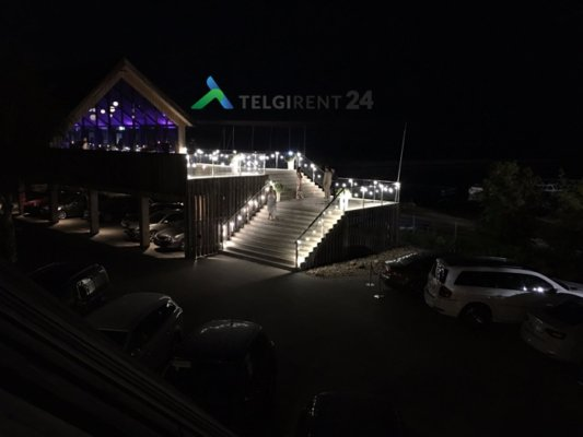LED Valaisinketju vuokraus myynti valoketju