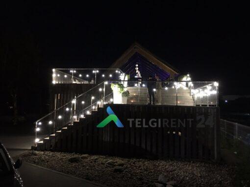 Valguskett valgusketi rent ja müük valguskettide müük lambiketi müük lambikett Valguskett E27 müük peoinventari müük ja rent