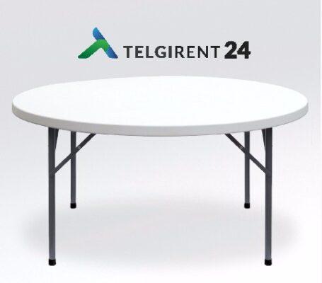 Pyöreä pöytä 120cm vuokraus Pyöreä pöytä 150cm vuokraus