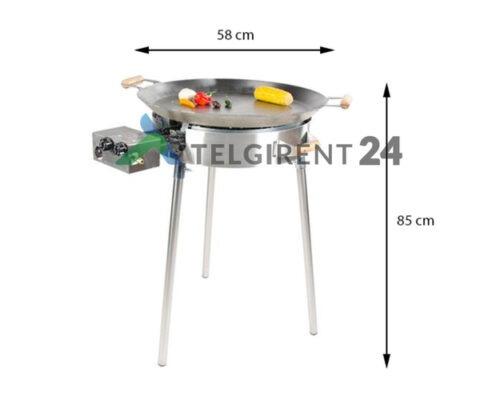 Pannikomplekt PRO 580inox paellapannide müük paella pann wokpannid müük paellapannide komplekt müük peapannid wok paella pannide müük