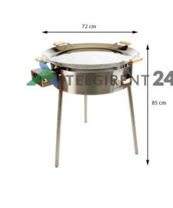 Pannikomplekt PRO 720inox paellapannide müük paella pann wokpannid müük paellapannide komplekt müük peapannid wok paella pannide müük