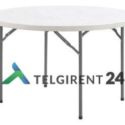 Ümmargune laud 120 cm müük peoinventari müük plastiklauad kokkupandavad lauad 120cm müük ümmargune laud 120cm