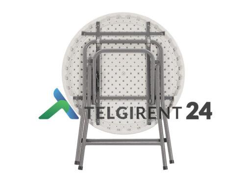 Ümmargune laud 80cm peoinventar plastiklauad kokkupandavad lauad 80cm ümmargune laud 80cm müük