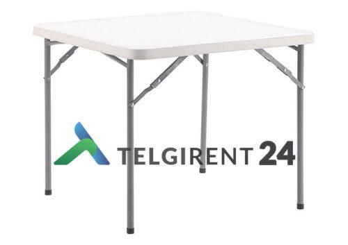 Kokkupandav laud 87x87 cm müük plastiklaud müük peoinventari müük plastikmööbel kokkupandav laud mööbel müük
