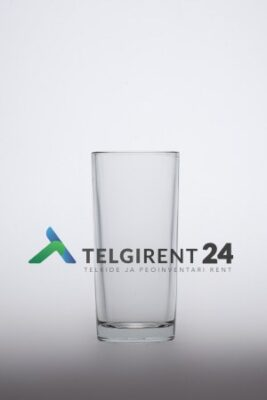 Joogiklaas 25cl lauanõude rent lauanõude laenutus joogiklaaside rent joogiklaaside laenutus