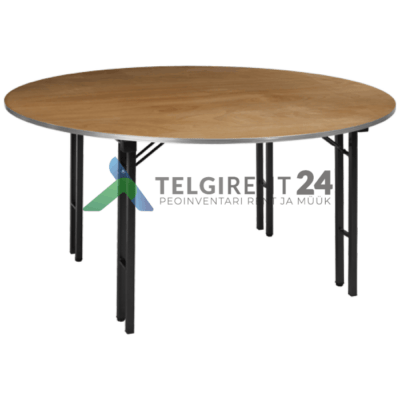 ümmargune laud 183cm puidust peomööbli müük peolaudade müük ümmargune laud 183cm müük peomööbli müük