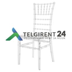 Chiavari tool läbipaistev müük Chiavari toolide müük peoinventari müük toolide müük